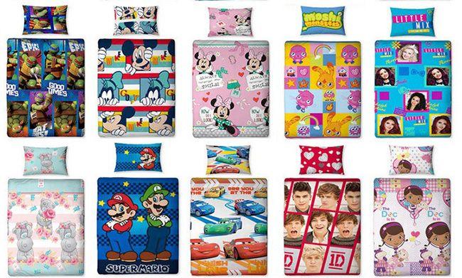 Bettwäsche Kinder Bettwäsche für 14,99€   über 30 verschiedene Motive verfügbar