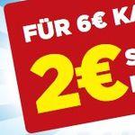 2€ Sofort-Rabatt ab 6€ Einkaufswert auf alle Produkte von WC-Ente & 00 Null Null