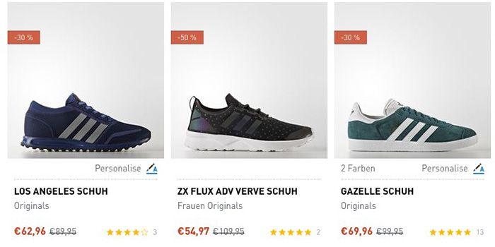 adidas Mid Season Sale mit bis zu 50% Rabatt + VSK+frei ab 50€   z.B. Tubular Invader Strap Sneaker für 84€ (statt 108€)
