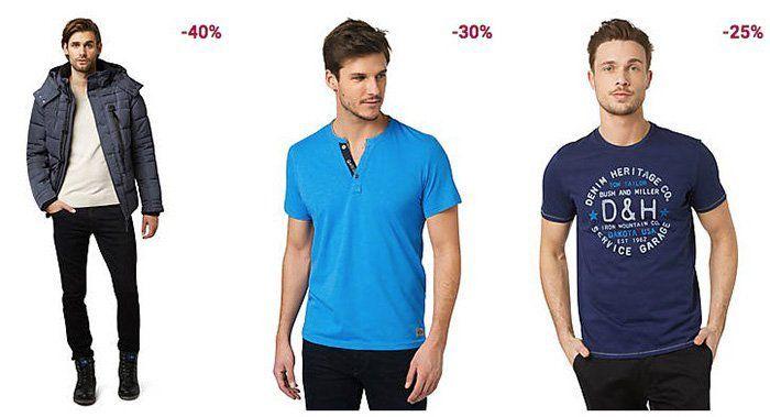 Bis zu 50% Rabatt im Tom Tailor Mid Season Sale + 20% Extra Rabatt + VSK nur 0,95€