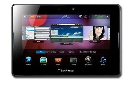 BlackBerry PlayBook 7 Zoll Tablet mit 64GB für 55€   Update