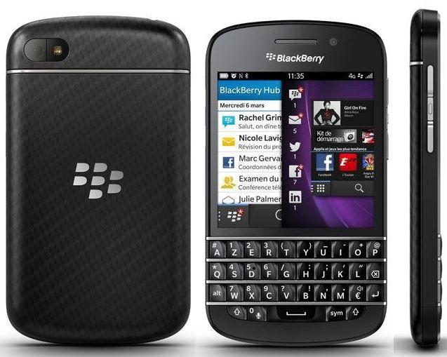 BlackBerry Q10   16GB Smartphone (Vorführgeräte) für 79,95€