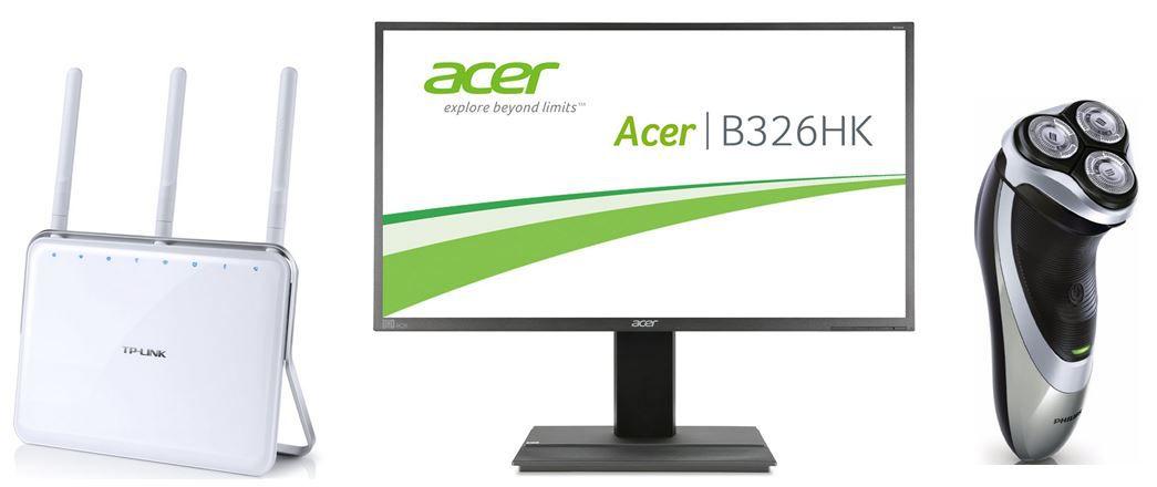 Blitzangebot11 Acer B326HKA   32 Zoll UHD Monitor   bei den 53 Amazon Blitzangeboten bis 11Uhr