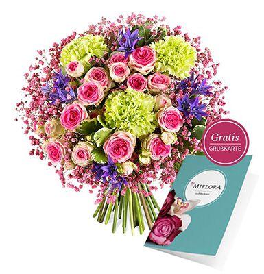 Blumenstrauß Nur für Dich Blumenstrauß Nur für Dich mit bunten Blüten + Grußkarte ab 19,80€   perfekt zum Muttertag!
