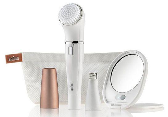 Braun Face 831 Gesichtsepilierer mit Reinigungsbürste für 46,90€