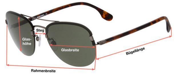 Brille DIESEL URGENT   Sonnenbrillen für Damen und Herren für je nur 39,90€