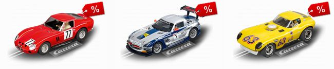 Carrera Keine Versandkosten im Carrera Online Shop + Sale + 5€ Gutschein