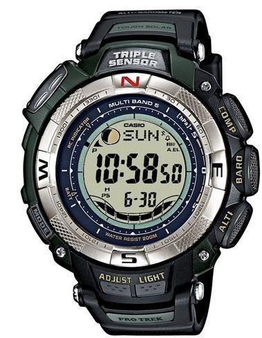 Casio Pro Trek Cerro Blanco Casio Pro Trek Cerro Blanco PRW 1500 1VER für 184€ dank exclusiven 15€ Gutschein für Uhr.de
