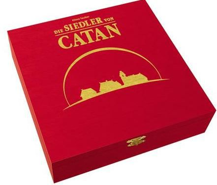 Catan Die Siedler von Catan: Jubiläumsausgabe aus Holz für 29,75€   bei der 15% Buch.de Rabattaktion
