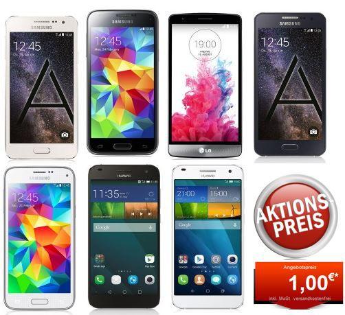 Congstar Telekom Allnet Flat S + 500MB Datenflat + Smartphone (Samsung S5 mini) für 19,99€ mtl.   Update