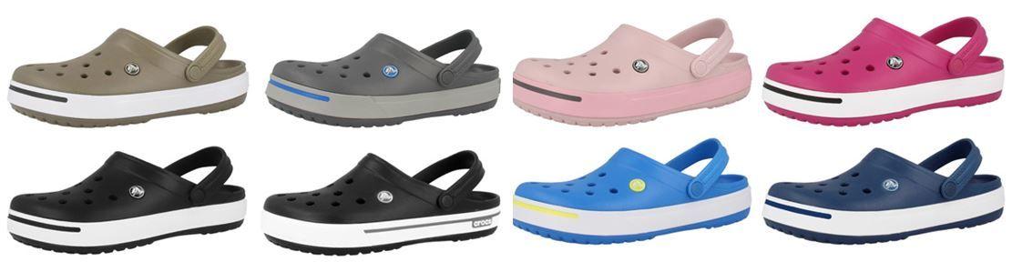 Crocs Crocband II   Unisex Schuhe für Garten, Freizeit, Wassersport je Paar 26,90€