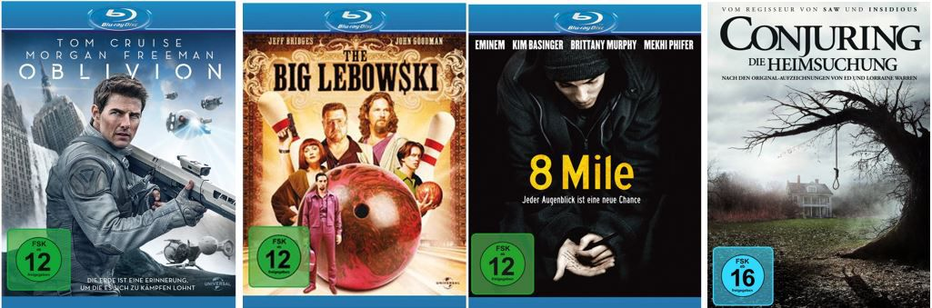 10 Blu rays für 50€ und mehr Amazon DVD oder Blu ray Angebote   Update