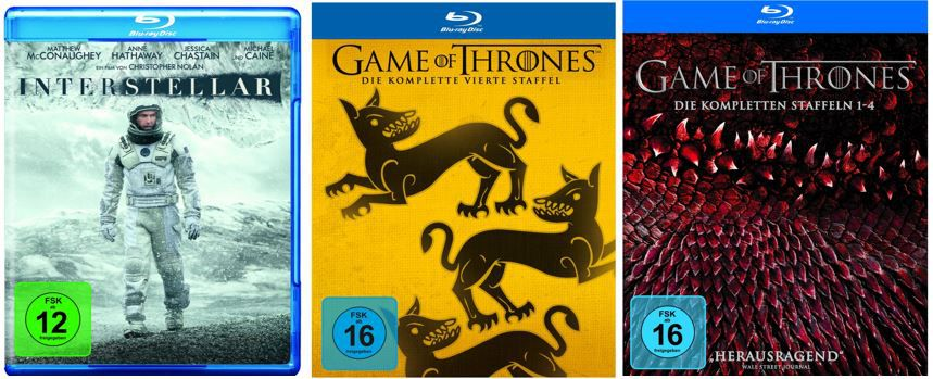 Film  & Serien Highlights und mehr neue Amazon DVD und Blu ray Aktionen