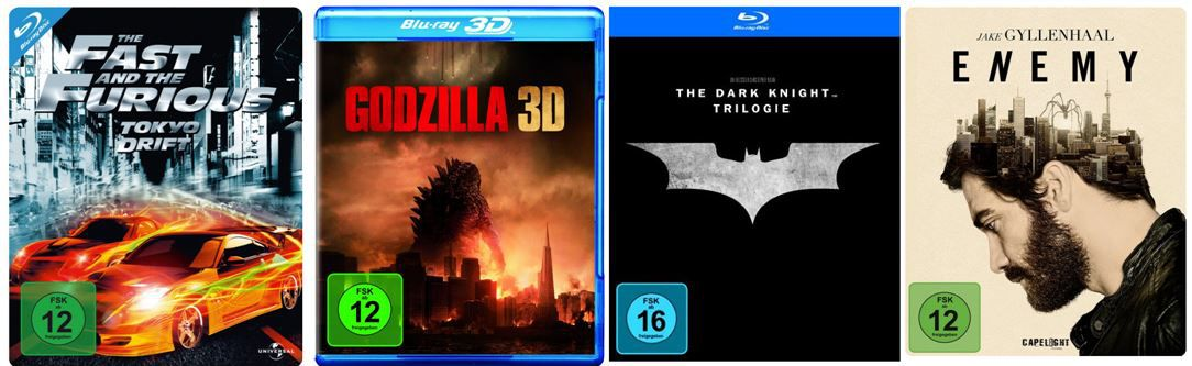 DVD Blu ray Batman   The Dark Knight Trilogy ab 16,97€ bei den Amazon DVD und Blu ray Angeboten der Woche