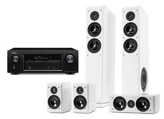 Denon AVR X1100W 7.2 Netzwerk Receiver + Audio Pro Avanto 5.0 für 699€