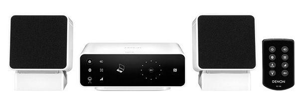 Denon CEOL Carino1 Denon CEOL Carino   Lautsprechersystem mit Bluetooth und NFC für 111€