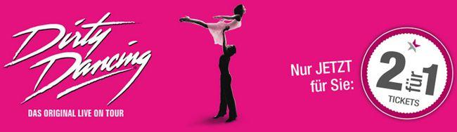 2 Tickets Dirty Dancing Musical in Hamburg zum Preis von Einem