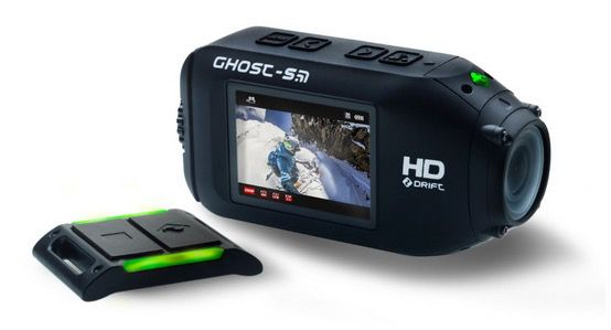 Drift Ghost S   WLAN Full HD Actioncam mit Fernbedienung für 229€