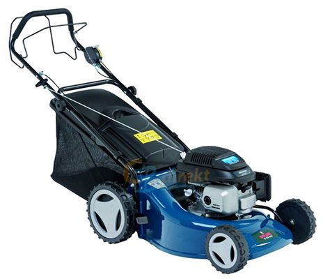 E Flor 51 BA Alu Benzin Rasenmäher mit Honda Motor GCV 160 für 269€
