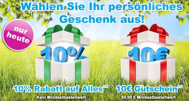 GartenXXL 10% Gutschein ohne MBW oder 10€ Gutschein mit 80€ MBW bei GartenXXL   z.B. Güde ECO Wheeler 461 P Blackline für 161,96€