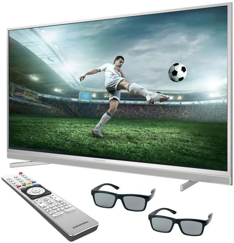 Grundig 48 VLX 8481   48 Zoll 3D UHD Smart TV mit PVR für 459,99€