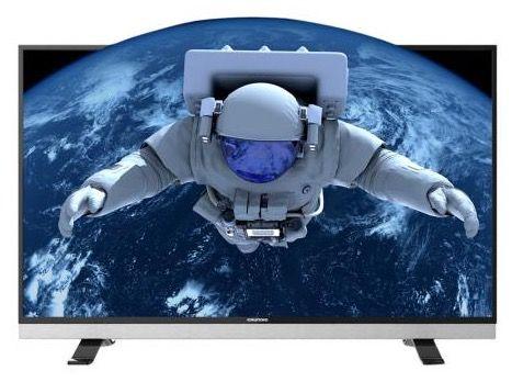 Grundig 55 VLX 881 BL   55 Zoll 3D UHD Fernseher mit Triple Tuner für 699€