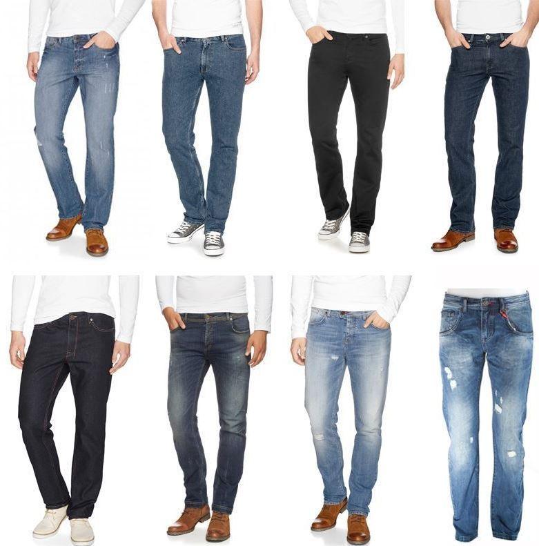 H.I.S Stanton Slim & Crosby  Herren Jeans für je 24,95€