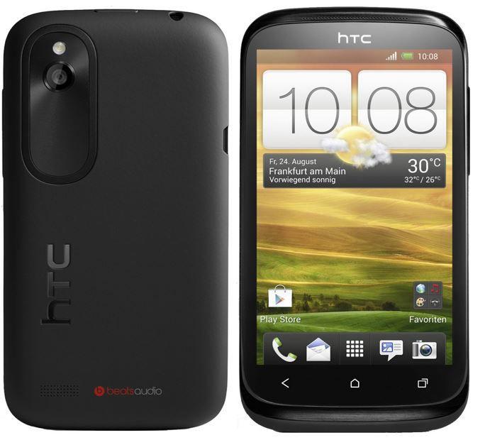 HTC Desire HTC Desire X stealth   Einsteiger Android Smartphone für 99€