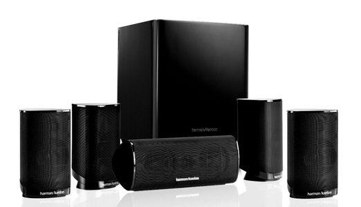Harman Kardon HKTS 9 BQ   5.1 Lautsprecherset mit Subwoofer für 224,60€