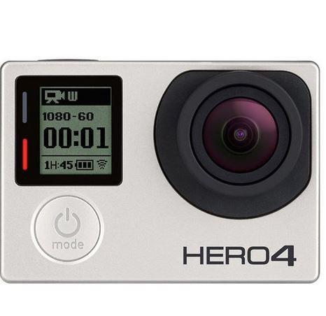 GoPro HERO 4 Silver Edition refurb. für ~242,10€ (statt 340€)