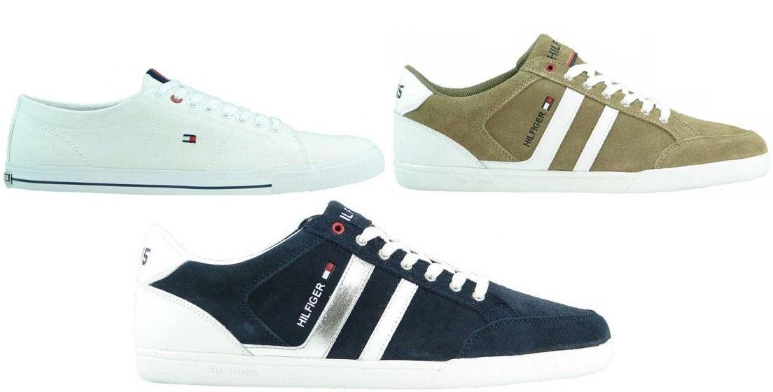 Berühmt TOMMY HILFIGER Glasgow Rickey B - coole Herren Sneaker für je Paar @ZI_64