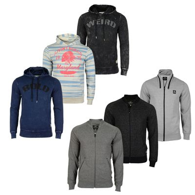 Jack Jones Hoodies Jack & Jones Pullover, Sweatjacken und Hoodies für je 19,90€   Update!