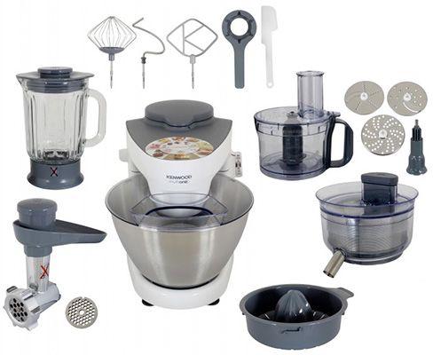 Kenwood MultiOne KHH326WH Kenwood MultiOne KHH326WH Küchenmaschine mit Zubehör für 269€