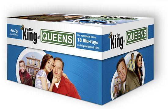 King of Queens HD Superbox auf Blu ray für 47,55€ (statt 75€)