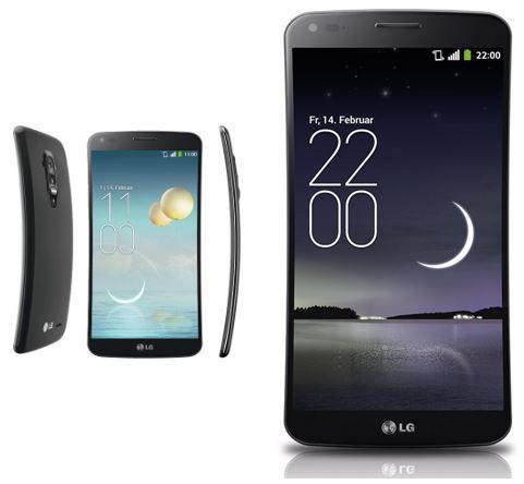 LG G Flex titan silver   Android 4.2.2 Smartphone für 249€