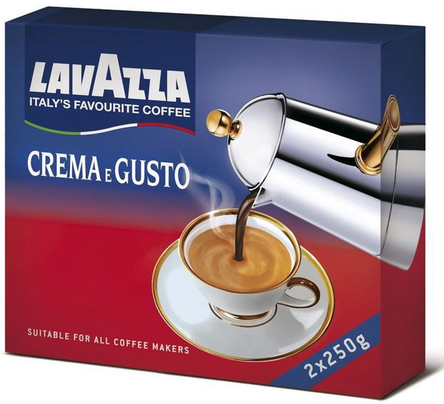 Lavazza Crema e Gusto, 1er Pack (1 x 500 g Packung) ab 4,84€