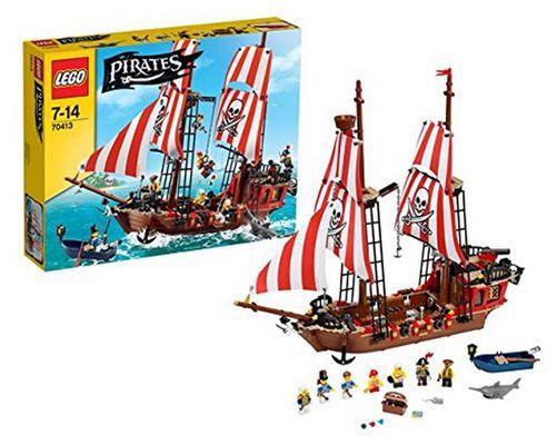 Lego Pirates 70413 Großes Piratenschiff für 70,17€