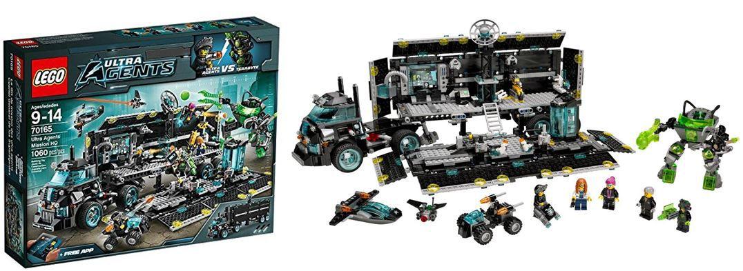 Lego 70165   Ultra Agenten Hauptquartier statt 83€ für 69€
