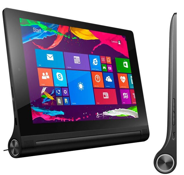 Lenovo Yoga 2   8 Zoll FHD Multimode Tablet mit Windows 8.1 für 169€