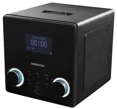 Medion Life P85044    WLAN Radio mit DLNA für 79,99€ (statt 105€)