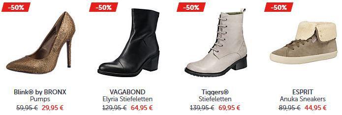 Mirapodo Damen Schuhe Mirapodo Mid Season Sale mit bis zu 50% Rabatt und mehr + Gutscheine!