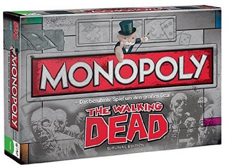 Winning Moves 43287   Monopoly The Walking Dead Edition für 28,95€