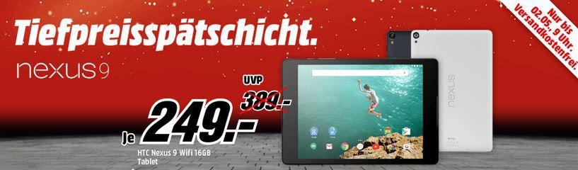 Nexus 9 Tiefpreis