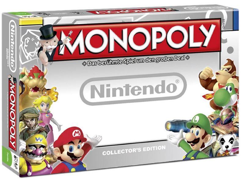 Nintendo Monopoly Monopoly   Nintendo Edition für 26€