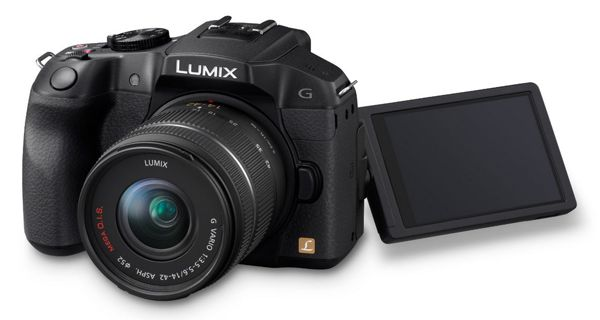 Panasonic Lumix DMC G6KEG K Panasonic Lumix DMC G6KEG K Systemkamera mit 14 42mm Objektiv für 404,31€