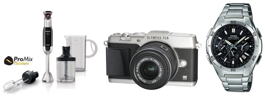 Olympus E P5 Systemkamera für 549€  bei den 73 Amazon Blitzangeboten bis 19Uhr