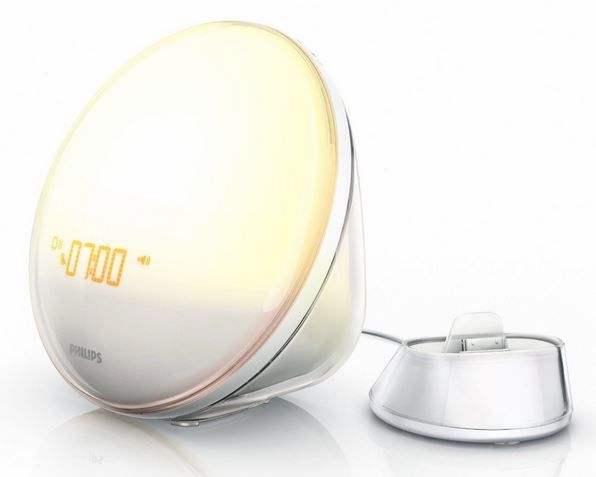 Philips HF3550/01 Wake Up Light (nur mit iPhone 4S/4/3GS nutzbar) für 85€   Update