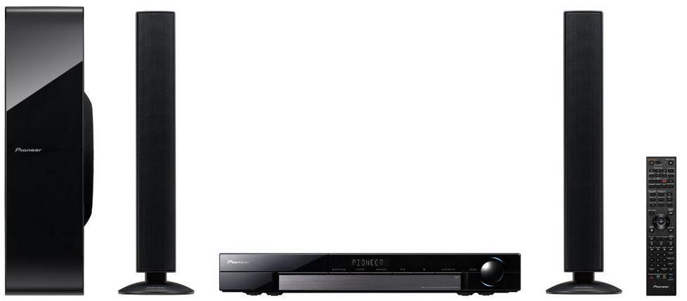 Pioneer MCS FS232   3D WiFi 2.1 Blu ray Heimkino System mit HDMI, DLNA und Internetradio für 199€