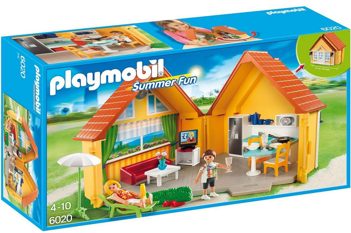 PLAYMOBIL  Summer Fun   aufklapp Ferienhaus ab 13€   aufklapp Box: Waldtierfütterung ab 7,37€   Update
