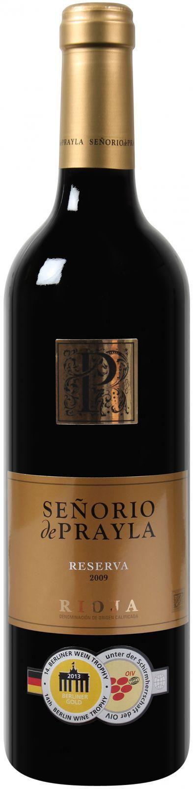 12 Flaschen Senorio de Prayla Rioja DOCa Reserva für 39€